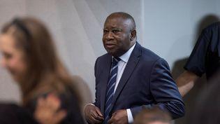 Laurent Gbagbo arrive devant la Cour pénale internationale, le 15 janvier 2019, à La Haye (Pays-Bas). (REUTERS)