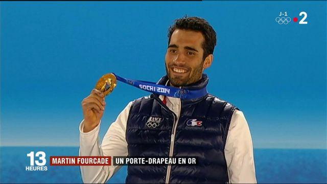 Jeux olympiques d'hiver : Martin Fourcade, un porte-drapeau en or