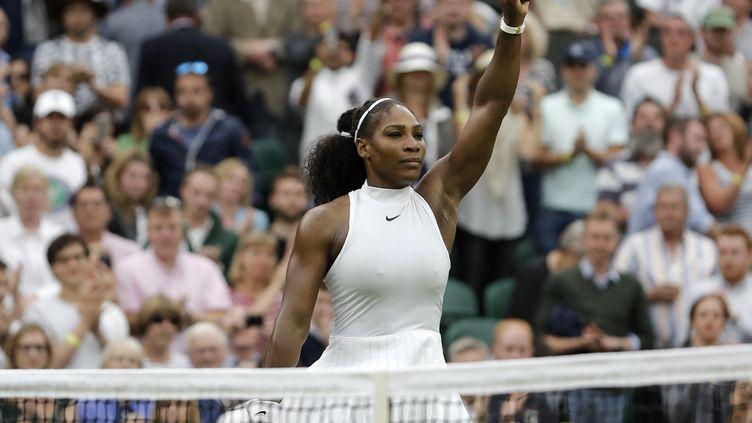 La rage de Serena (ADRIAN DENNIS / AFP)