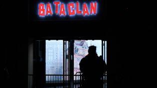 L'enseigne de la salle de spectacle du Bataclan, le 12 novembre 2016 à Paris. (PHILIPPE LOPEZ / AFP)