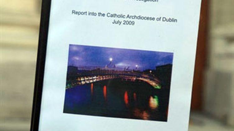 Le rapport de la commission d'enquête concernant des abus sexuels dans le diocèse catholique de Dublin (AFP PHOTO/Peter Muhly)