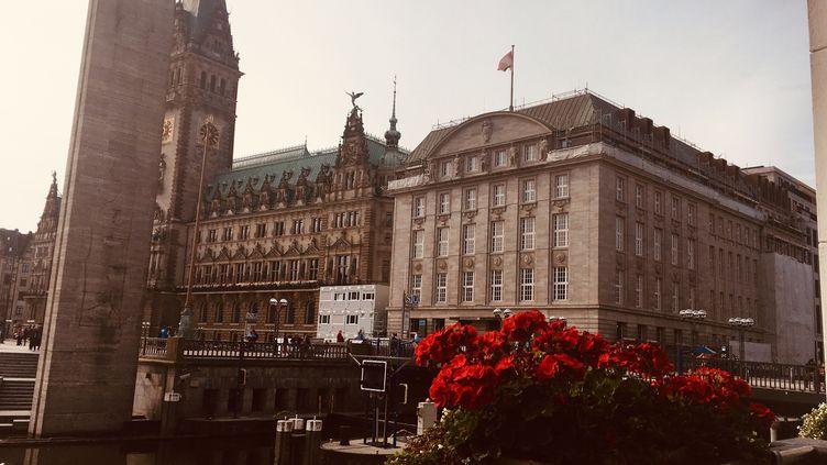 Hôtel de Ville d'Hambourg. (INGRID POHU / RADIO FRANCE)