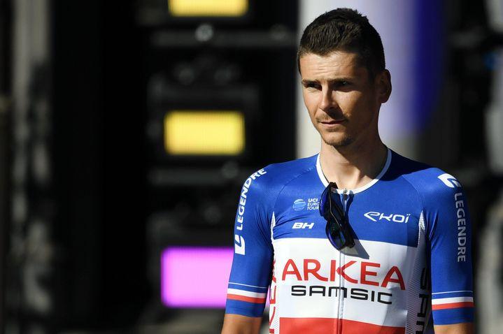 Warren Barguil, nouveau champion de France et dernier vainqueur un 14 juillet. (ALEXANDRE MARCHI / MAXPPP)