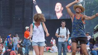 Festival des Vieilles Charrues, Carhaix (Finistère), le 19 juillet 2013  (Sylvain Chamaillard/Wostok Press/Maxppp France)