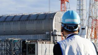 il y a presque dix ans que la centrale nucléaire Fukushima Daiichi, au nord-est du Japon, a été ravagée après qu'un tsunami a balayé la côte environnante. (KARYN NISHIMURA / RADIO FRANCE)
