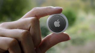 L'Air Tag d'Apple, le porte-clefs localisable. (HANDOUT / APPLE INC. / AFP)