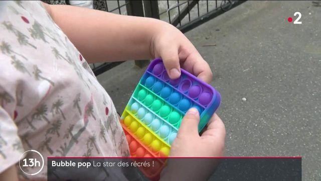 Consommation : le Bubble pop, ce jeu antistress qui fait fureur dans les cours de récréation