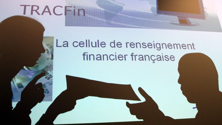Tracfin : Traitement du renseignement financier et action contre les circuits financiers clandestins. (DELPHINE GOLDSZTEJN / MAXPPP)