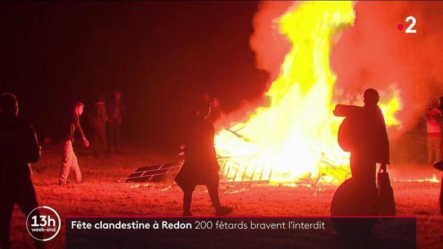 Fête clandestine à Redon : 200 fêtards bravent l'interdit