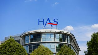 Le bâtiment de la Haute Autorité de santé, le 31 juillet 2014. (IMAGE POINT FR / BSIP / AFP)