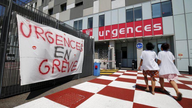 Les urgences de l'hôpital Pasteur 2 à Nice, le 29 juillet 2019 (MAXPPP)