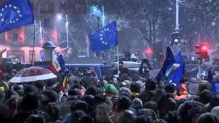 Alors qu'elle vient d'accéder à la présidence tournante de l'Union européenne, la Roumanie traverse une période trouble. (CAPTURE D'ÉCRAN FRANCE 3)