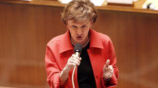 La ministre déléguée aux Personnes âgées, Michèle Delaunay, à l'Assemblée nationale à Paris, le 13 février 2013. (FRANCOIS GUILLOT / AFP)