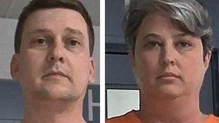 Ces photos non datées de Jonathan Toebbe et Diana Toebbeont été prises avec l'autorisation de la West Virginia Regional Jail and Correctional Facility Authority à Charleston, en Virginie occidentale. (WEST VIRGINIA REGIONAL JAIL AND CORRECTIONNAL FACILITY AUTHORITY / AFP)