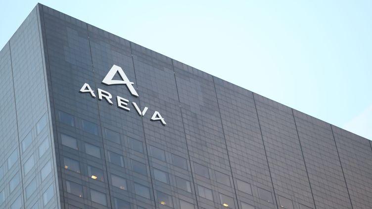 Le siège d'Areva, à Courbevoie. (OLIVIER BOITET / MAXPPP)