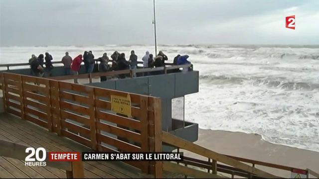 Tempête Carmen : quelques dégâts dans l'ouest de la France