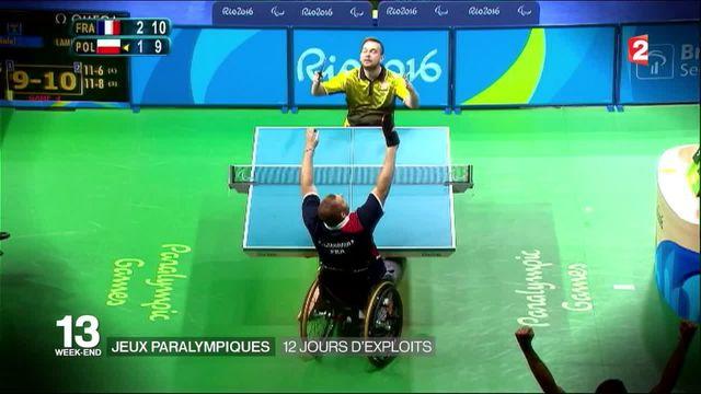 Jeux paralympiques : douze jours d'exploits