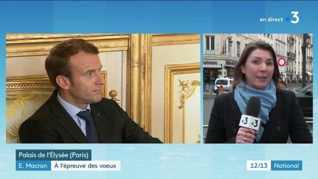 Emmanuel Macron : À l'épreuve des vœux