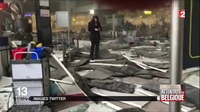 Attentats de Bruxelles : explosions à l'aéroport de Zaventem