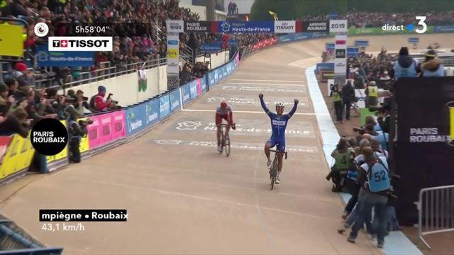 Le Belge Philippe Gilbert remporte la 177e édition du Paris-Roubaix