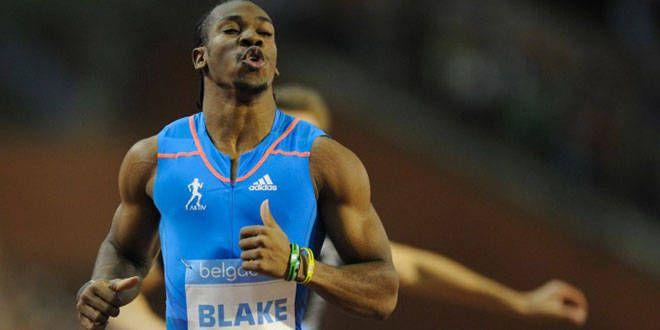 L'athlète jamaïquain Yohan Blake