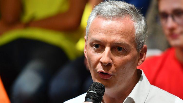 Bruno Le Maire, le 17 octobre 2016 à Neuilly-sur-Seine (Hauts-de-Seine). (FRANCOIS PAULETTO / CITIZENSIDE / AFP)