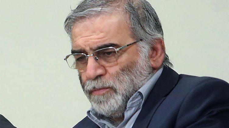 Le scientifiqueMohsen Fakhrizadeh lors d'une réunion à Téhéran (Iran) le 23 janvier 2019. (- / KHAMENEI.IR / AFP)