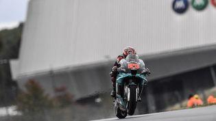 Fabio Quartararo sur le Grand Prix de France en octobre 2020. (GIGI SOLDANO / DPPI MEDIA)