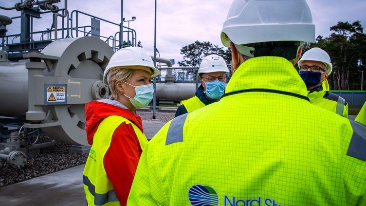 Le Nord Stream 2, un projet à 10 milliards d'euros pour permettre au gaz de passer directement de la Russie à l'Allemagne. (JENS BUTTNER / DPA-ZENTRALBILD)