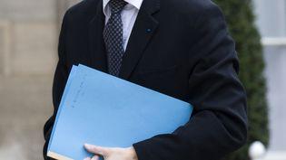 Jean-Pierre Jouyet, alors président de l'Autorité des marchés financiers,le 10 avril 2009, dans la cour de l'Elysée, à Paris. ( PHILIPPE WOJAZER / REUTERS)