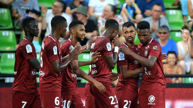 Metz Ajaccio en clôture de la 15e journée de Ligue 2 (PASCAL BROCARD / MAXPPP)