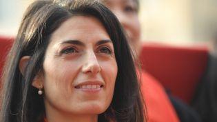 La maire de Rome, Virginia Raggi, le 28 janvier 2017. (ANDREAS SOLARO / AFP)