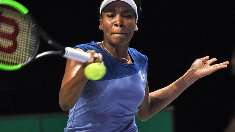 Venus Williams au Masters de Singapour. (ROSLAN RAHMAN / AFP)
