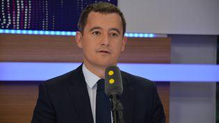 Gérald Darmanin, Ministre de l'Action et des Comptes publics. (RADIO FRANCE / JEAN-CHRISTOPHE BOURDILLAT)