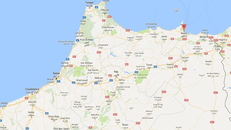 La cellule s'activait dans la région de Nador, dans le nord du Maroc. (GOOGLE MAPS)