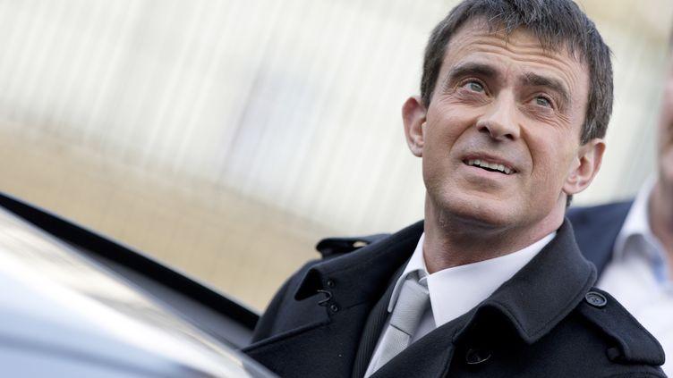 Le Premier ministre, Manuel Valls, le 22 mars 2015, à Paris. (KENZO TRIBOUILLARD / AFP)