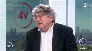 Eric Coquerel, député LFI. (France 2)