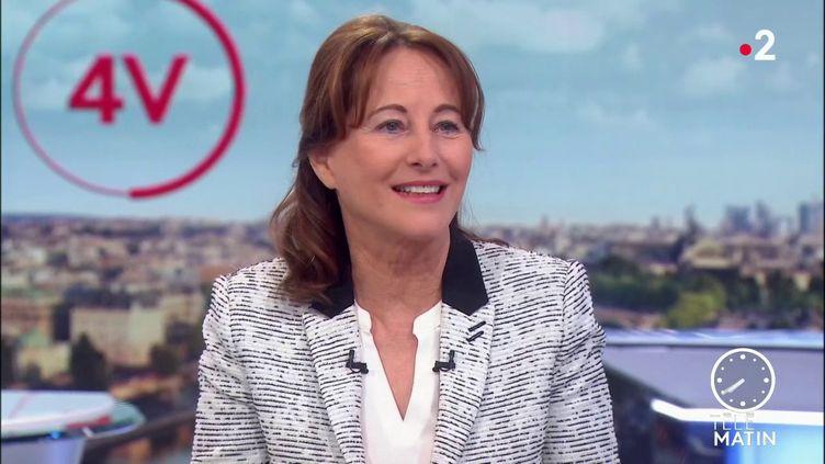 Ségolène Royal, ancienne ministre de l'Ecologie (France 2)