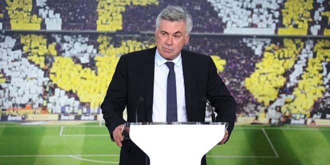 Carlo Ancelotti, le nouvel entraîneur du Real Madrid