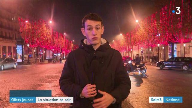 """""""Gilets jaunes"""" : le point sur la situation à Paris"""