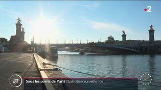 Un pont à Paris. (France 2)