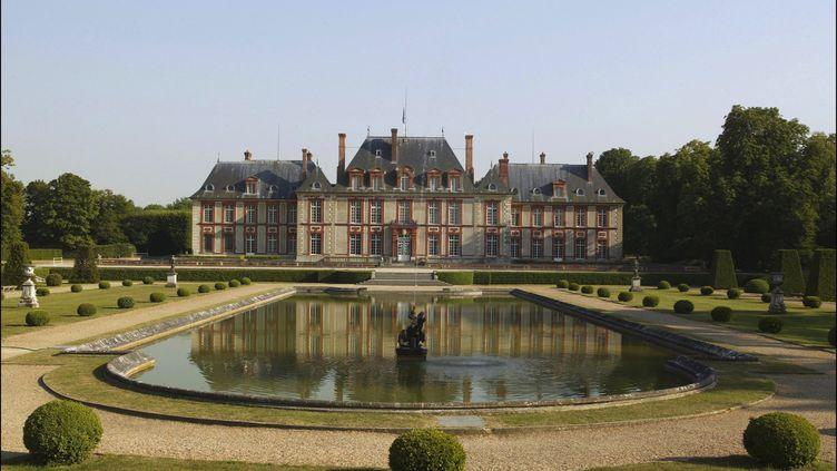 Chateau de Breteuil à Choisel (Yvelines). (RAPHAEL GAILLARDE / GAMMA-RAPHO)