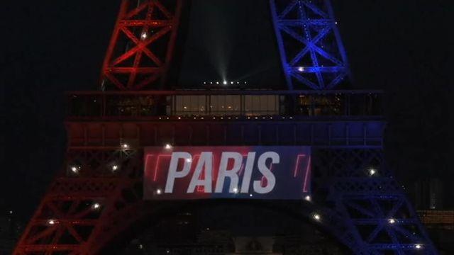 VIDEO. La Tour Eiffel souhaite la bienvenue à Neymar