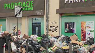 Les ordures ne sont plus ramassées dans plusieurs quartiers deMarseille, depuis lundi 27 septembre. Les éboueurs protestent contre la volonté de la métropole Aix-Marseille-Provence de les faire travailler davantage. (FRANCE 2)