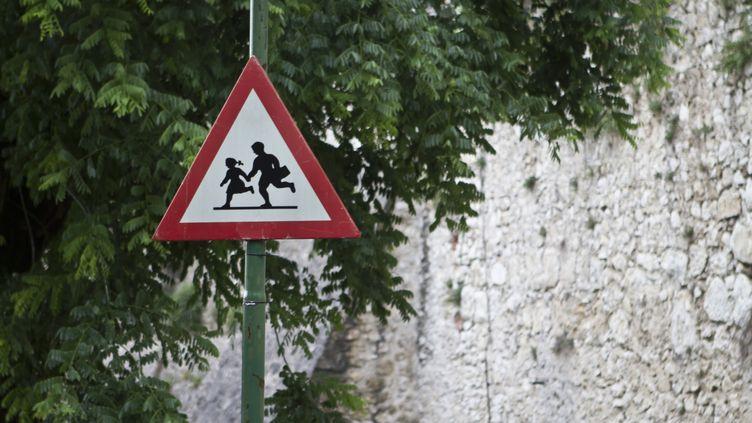 Un panneau de signalisation routière en Italie. (ENZO D./CC/FLICKR/GETTY IMAGES)