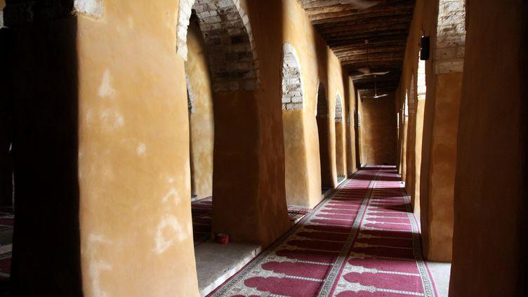 La mosquée de Djingareyber, à Tombouctou (Mali), le 8 avril 2015. Lemine Ould Salem y a tourné des images de son film. (SEBASTIEN RIEUSSEC / AFP)
