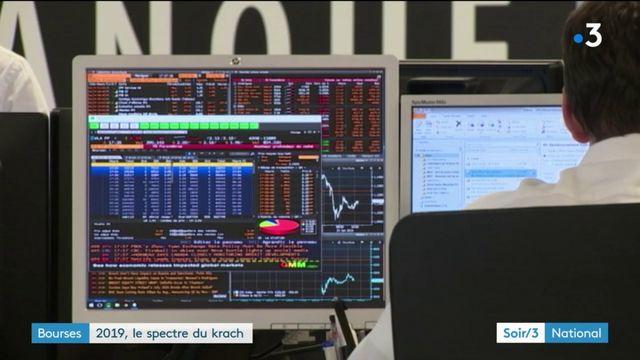 Bourse : le spectre du krach en 2019