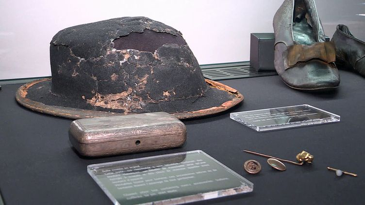 La nouvelle exposition temporaine de la Cité de la Mer à Cherbourg présente une série d'objets exceptionnels remontés du Titanic (France 3 Normandie)