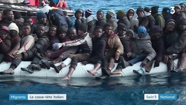 Migrants : le casse-tête italien