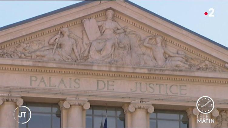 Le Palais de justice de Nice (Alpes-Maritimes). (France 2)